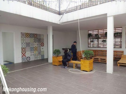 Beautiful serviced apartment for rent in Vong Thi street, Tay Ho district, Hanoi 13