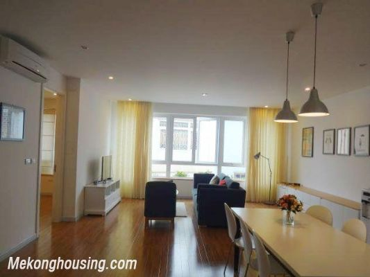 Beautiful serviced apartment for rent in Vong Thi street, Tay Ho district, Hanoi 2