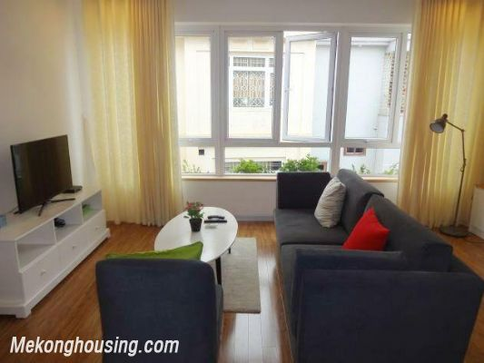Beautiful serviced apartment for rent in Vong Thi street, Tay Ho district, Hanoi 3