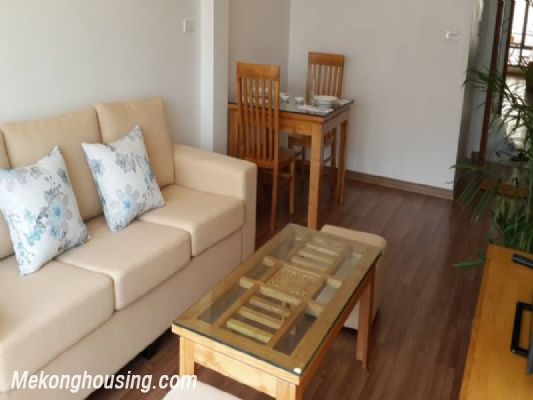 Beautiful serviced apartment with 1 cozy bedroom for rent in Hoang Quoc Viet street, Cau Giay, Hanoi 2