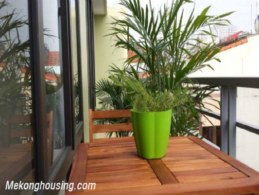 Beautiful serviced apartment with 1 cozy bedroom for rent in Hoang Quoc Viet street, Cau Giay, Hanoi 3