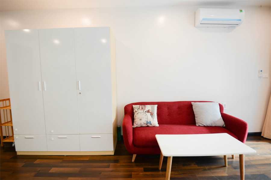 Beautiful studio aparment for rent on Vong Thi street, Tay Ho 4