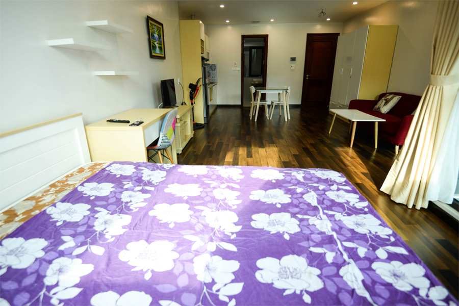 Beautiful studio aparment for rent on Vong Thi street, Tay Ho 6