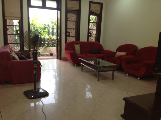 Beautiful villa with 5 bedrooms for rent in in Ciputra Hanoi