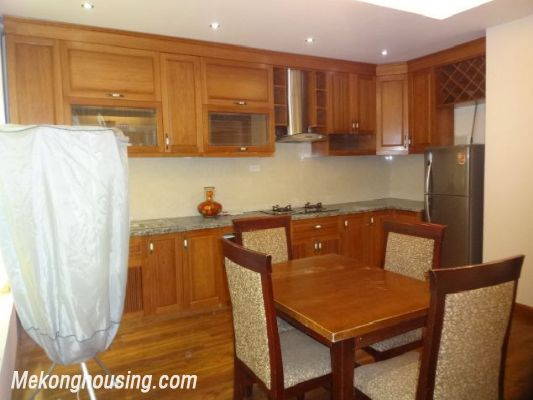 Bight serviced apartment with 2 bedrooms for rent in Lac Long Quan street, Tay Ho district, Hanoi 4