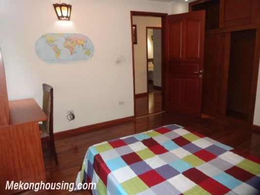 Bight serviced apartment with 2 bedrooms for rent in Lac Long Quan street, Tay Ho district, Hanoi 10