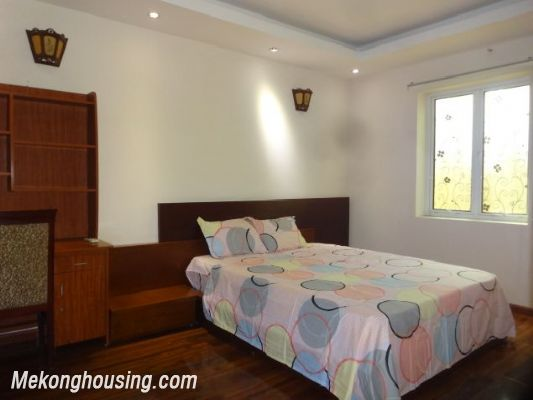 Bight serviced apartment with 2 bedrooms for rent in Lac Long Quan street, Tay Ho district, Hanoi 5