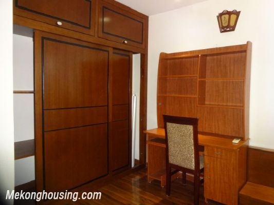 Bight serviced apartment with 2 bedrooms for rent in Lac Long Quan street, Tay Ho district, Hanoi 7