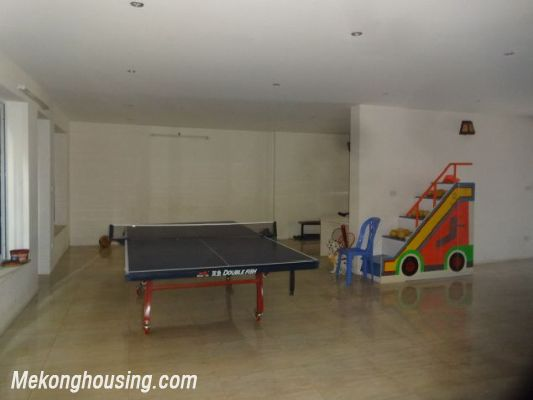 Bight serviced apartment with 2 bedrooms for rent in Lac Long Quan street, Tay Ho district, Hanoi 15