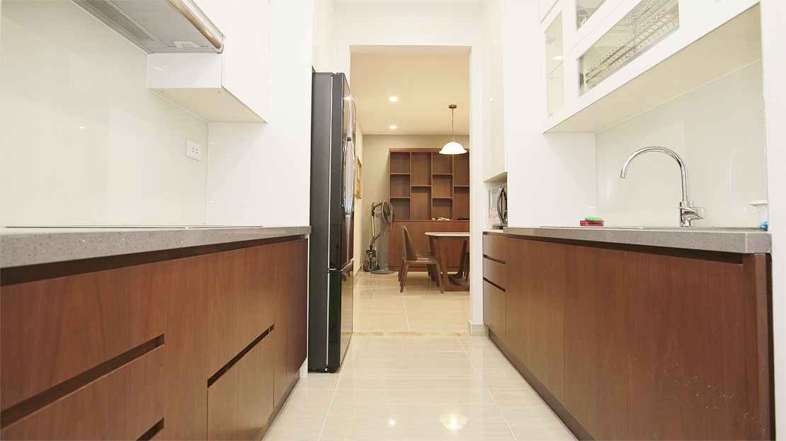 Brand new 3 bedroom apartment with Golf course view for rent in L3 Ciputra The Link 11
