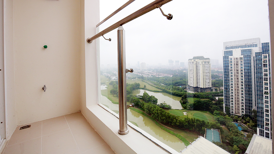 Brand new 3 bedroom apartment with Golf course view for rent in L3 Ciputra The Link 20