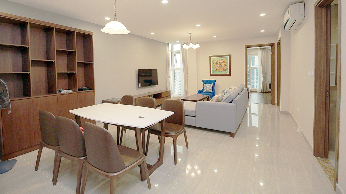 Brand new 3 bedroom apartment with Golf course view for rent in L3 Ciputra The Link 3