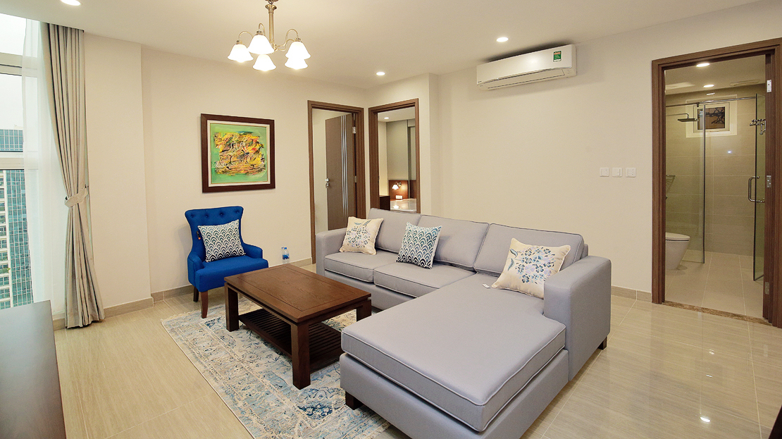 Brand new 3 bedroom apartment with Golf course view for rent in L3 Ciputra The Link 5