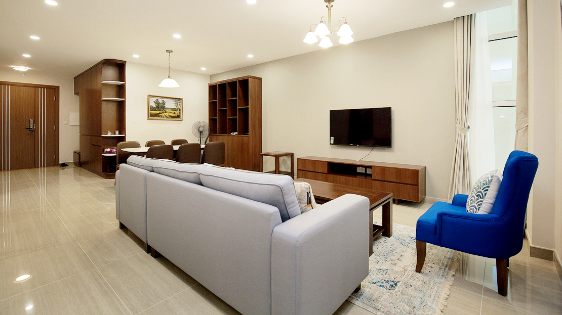 Brand new 3 bedroom apartment with Golf course view for rent in L3 Ciputra The Link 7