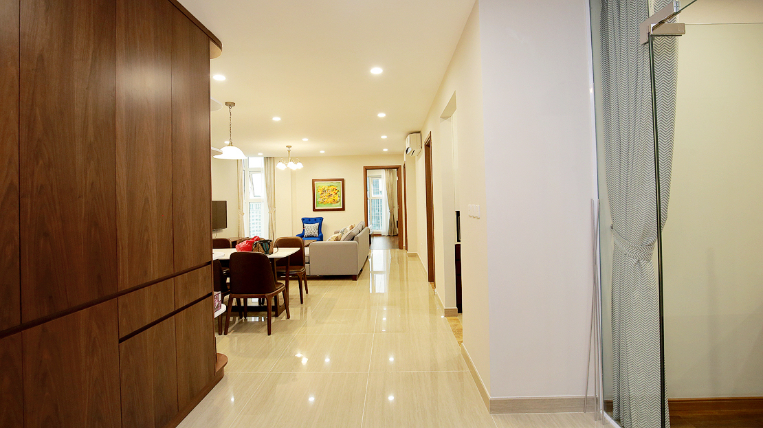 Brand new 3 bedroom apartment with Golf course view for rent in L3 Ciputra The Link 8