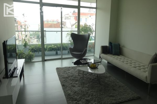 Brand new apartment with 2 bedrooms for rent in Watermark Lac Long Quan 1