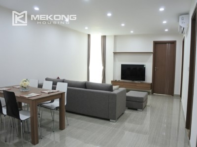 Brand new apartment with 3 bedrooms for rent in L3 tower, Ciputra Hanoi