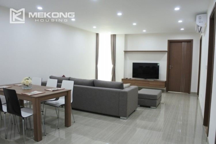 Brand new apartment with 3 bedrooms for rent in L3 tower, Ciputra Hanoi 3