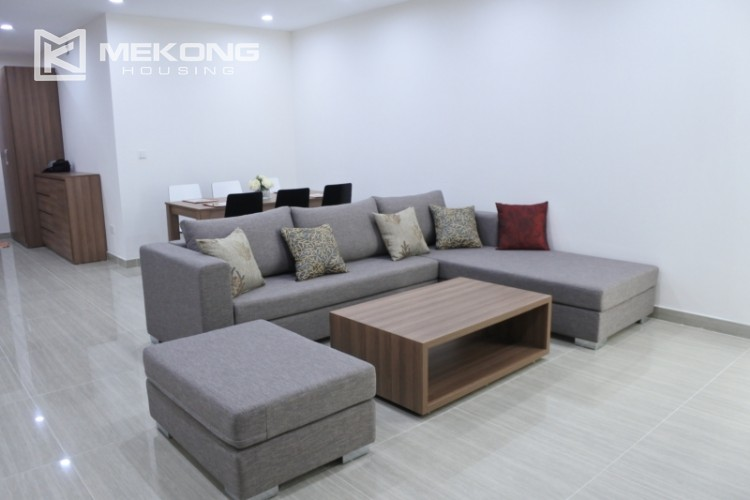 Brand new apartment with 3 bedrooms for rent in L3 tower, Ciputra Hanoi 10