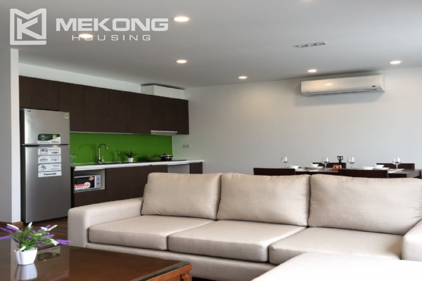 Brand new serviced apartment with 2 bedrooms for rent in To Ngoc Van 1