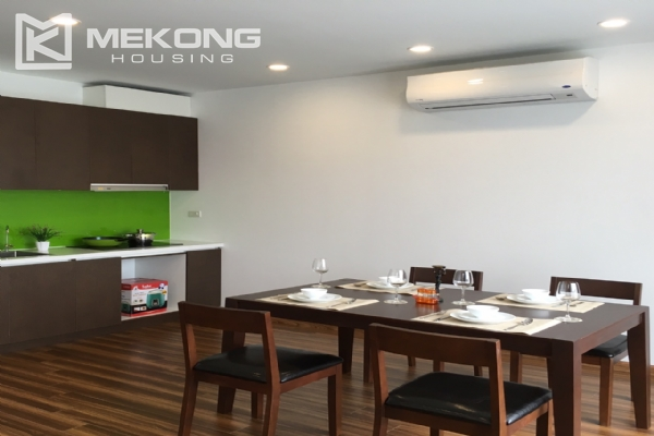 Brand new serviced apartment with 2 bedrooms for rent in To Ngoc Van 2