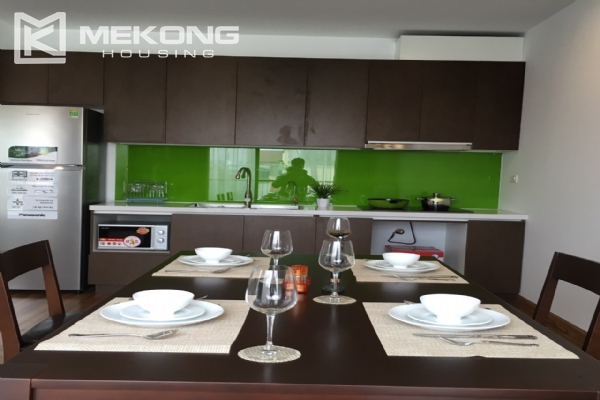 Brand new serviced apartment with 2 bedrooms for rent in To Ngoc Van 3