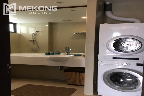 Brand new serviced apartment with 2 bedrooms for rent in To Ngoc Van 7