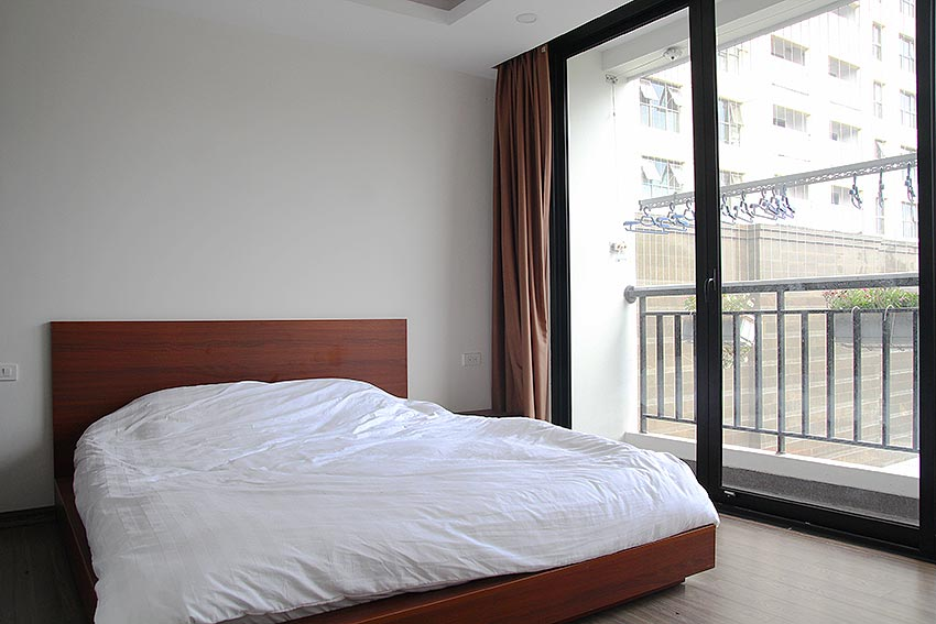 Bright 2 BRs apartment with awesome greenery view on Dang Thai Mai street, Tay Ho 11