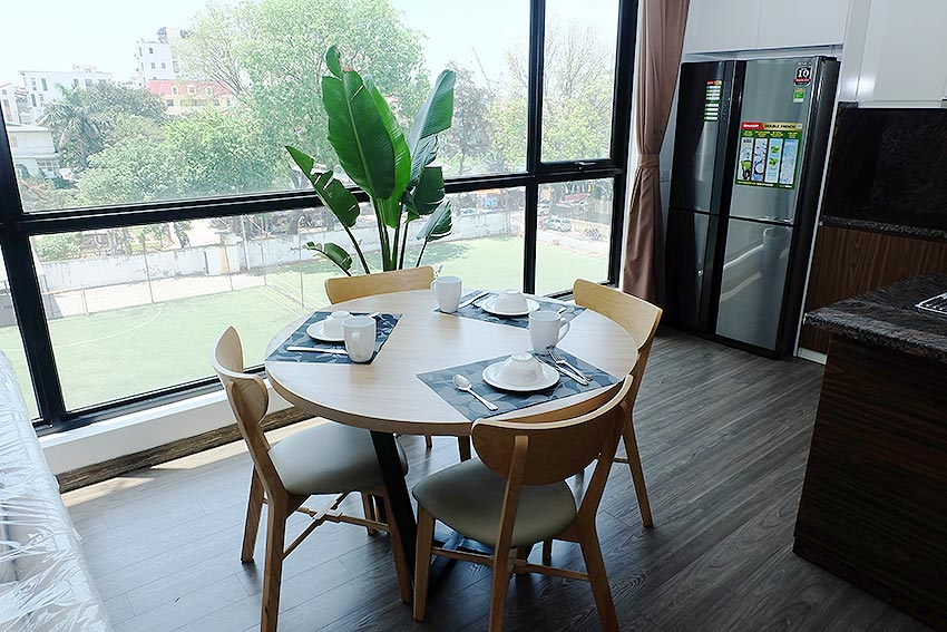 Bright 2 BRs apartment with awesome greenery view on Dang Thai Mai street, Tay Ho 8
