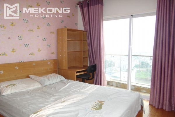 Bright apartment with 2 bedrooms and modern furniture in Golden Westlake Hanoi 9