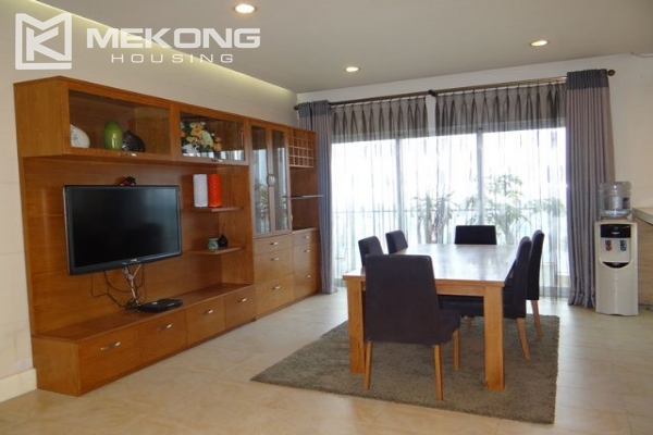 Bright apartment with 2 bedrooms and modern furniture in Golden Westlake Hanoi 2