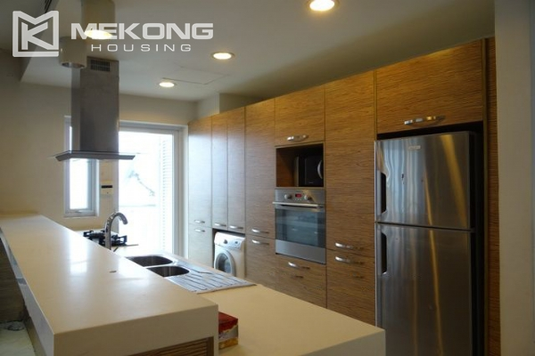 Bright apartment with 2 bedrooms and modern furniture in Golden Westlake Hanoi 3