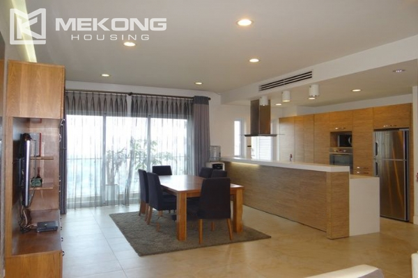 Bright apartment with 2 bedrooms and modern furniture in Golden Westlake Hanoi 4