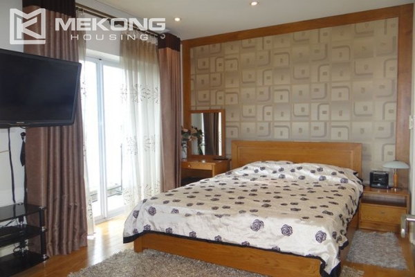 Bright apartment with 2 bedrooms and modern furniture in Golden Westlake Hanoi 5