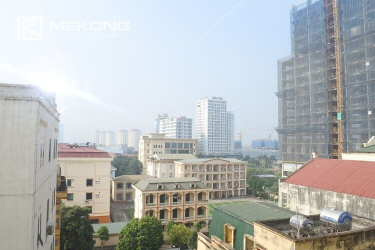 Bright apartment with 2 bedrooms for rent at 713 building, Lac Long Quan street, Tay Ho 4