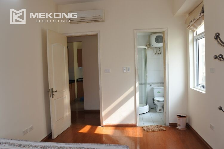 Bright apartment with 2 bedrooms for rent at 713 building, Lac Long Quan street, Tay Ho 5