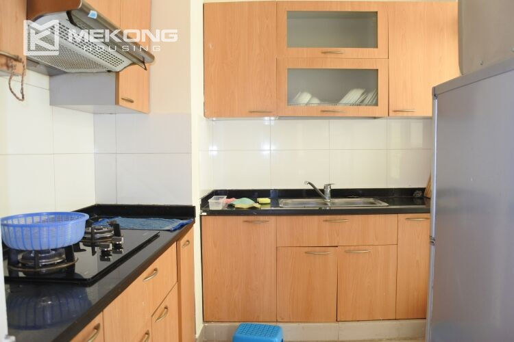 Bright apartment with 2 bedrooms for rent at 713 building, Lac Long Quan street, Tay Ho 6