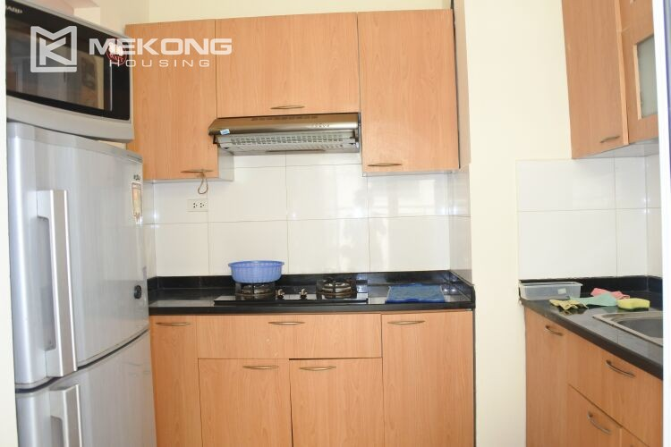 Bright apartment with 2 bedrooms for rent at 713 building, Lac Long Quan street, Tay Ho 7