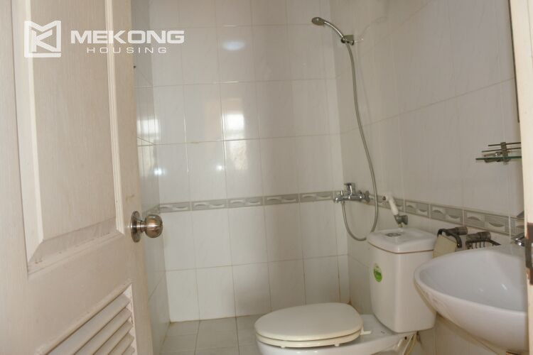 Bright apartment with 2 bedrooms for rent at 713 building, Lac Long Quan street, Tay Ho 13