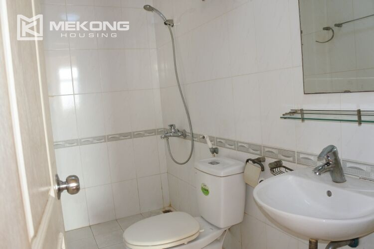 Bright apartment with 2 bedrooms for rent at 713 building, Lac Long Quan street, Tay Ho 14