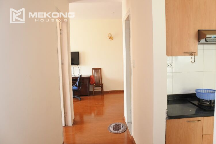 Bright apartment with 2 bedrooms for rent at 713 building, Lac Long Quan street, Tay Ho 9