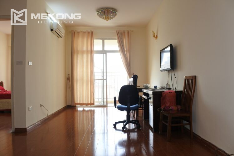 Bright apartment with 2 bedrooms for rent at 713 building, Lac Long Quan street, Tay Ho 15