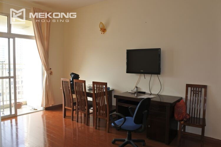 Bright apartment with 2 bedrooms for rent at 713 building, Lac Long Quan street, Tay Ho 16
