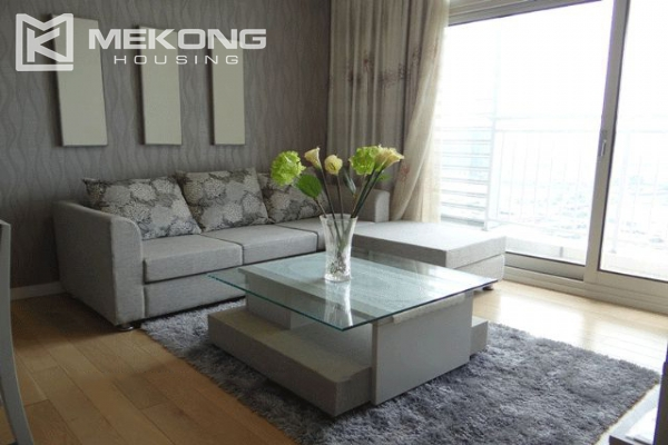 Bright apartment with 2 bedrooms for rent in Keangnam Landmark Hanoi 1