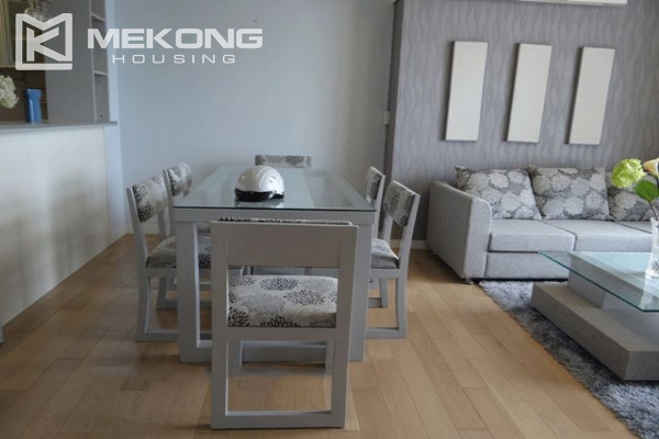 Bright apartment with 2 bedrooms for rent in Keangnam Landmark Hanoi 2
