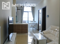 Bright apartment with 2 bedrooms for rent in Trang An Complex
