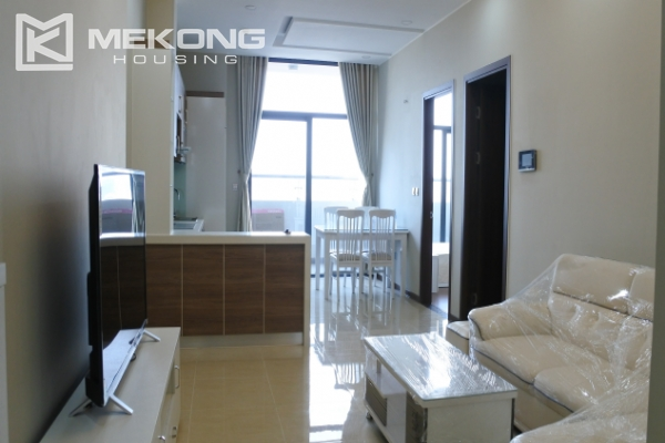 Bright apartment with 2 bedrooms for rent in Trang An Complex 1