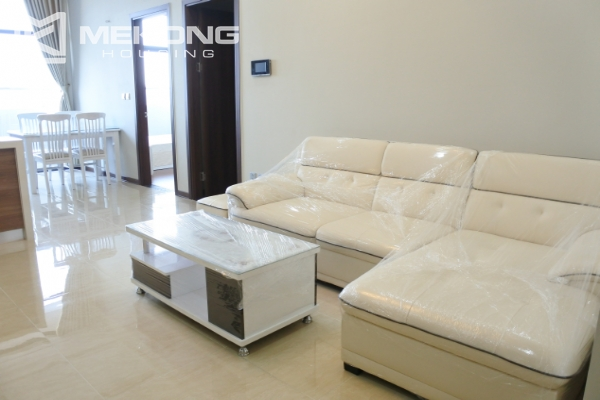 Bright apartment with 2 bedrooms for rent in Trang An Complex 7