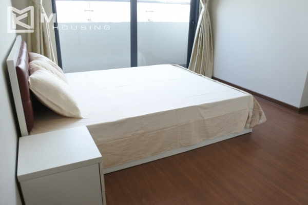 Bright apartment with 2 bedrooms for rent in Trang An Complex 13