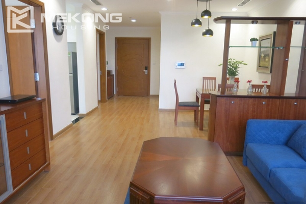 Bright apartment with 2 bedrooms for rent in Vinhomes Nguyen Chi Thanh, Hanoi 1